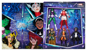 SDCC 2017 Exclusive Marvel Legends A-Force Box Set