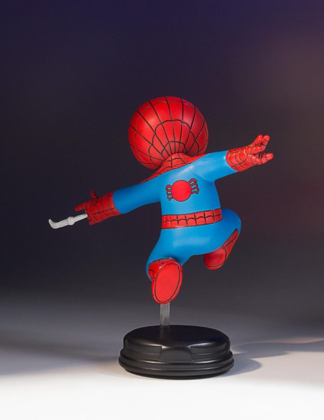 SDCC 2017 Gentle Giant Exclusive Marvel Animated Spider-Man Statue Back