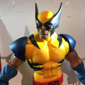 SDCC 2017 Marvel Legends 12 Inch Wolverine Figure Close-Up