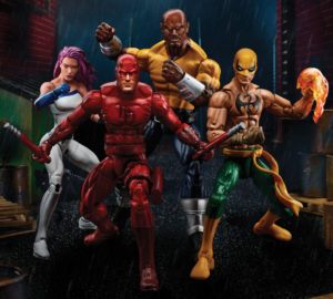 SDCC 2017 Marvel Legends Defenders 4-Pack Revealed