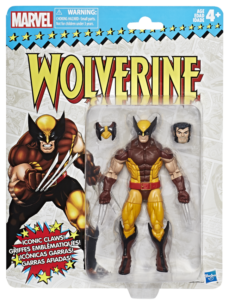 SDCC 2017 Marvel Legends Vintage Wolverine 6 Inch Figure
