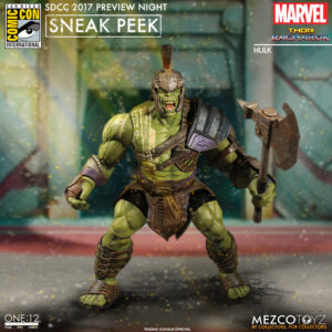 SDCC 2017 Mezco Gladiator Hulk ONE 12 Collective Figure