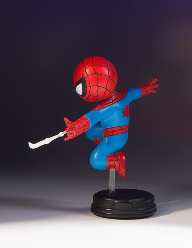 Side View of Skottie Young Spider-Man Figure SDCC 2017 Exclusive