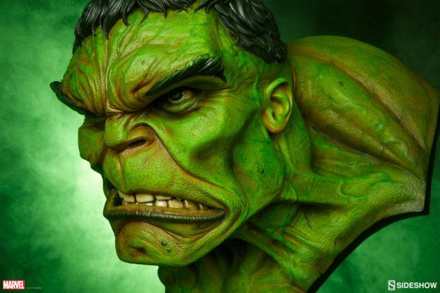 Sideshow The Incredible Hulk Life Size Bust