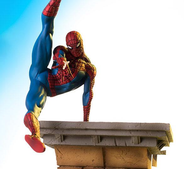 Spider-Man Battle Diorama Series Iron Studios Statue