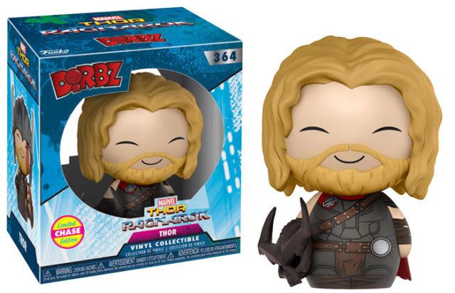 Thor Ragnarok Dorbz CHASE Thor Without Helmet