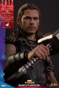 Thor Ragnarok Hot Toys Roadworn Thor Head Chris Hemsworth Portrait