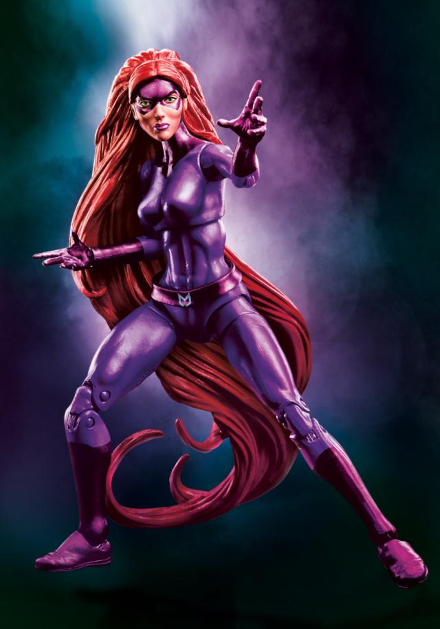 Exclusive Marvel Legends Mr. Fantastic & Medusa Figures ...
