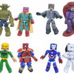Marvel Minimates Wave 74 & Walgreens Series 6 Revealed!