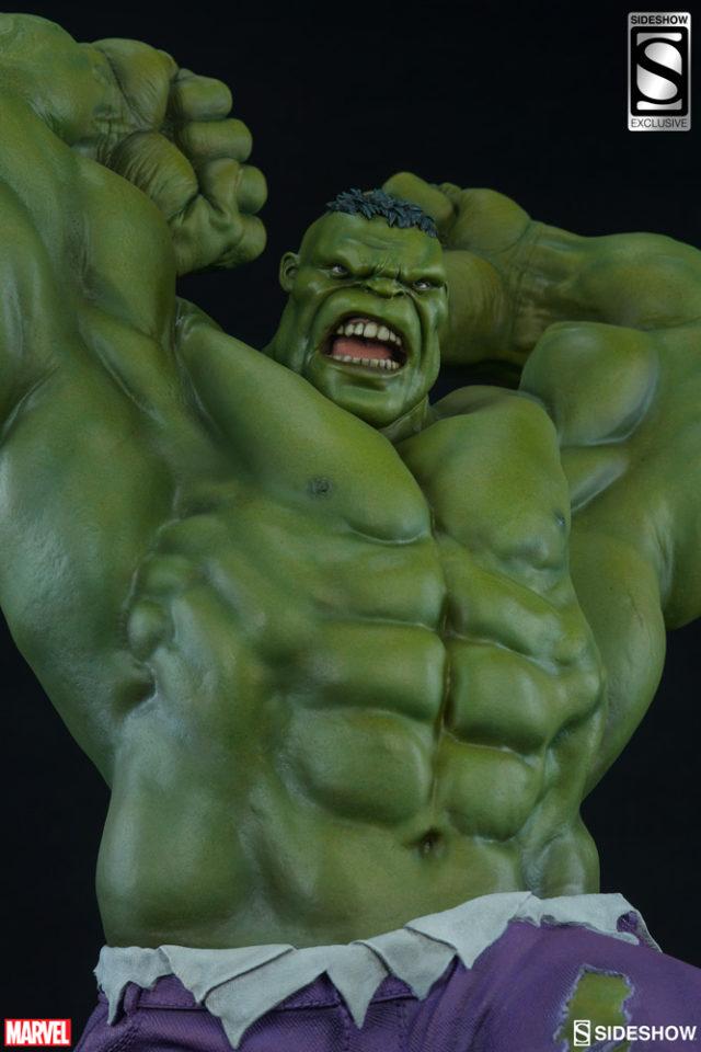 Alternate Portrait on Sideshow Hulk Avengers Assemble Exclusive Statue