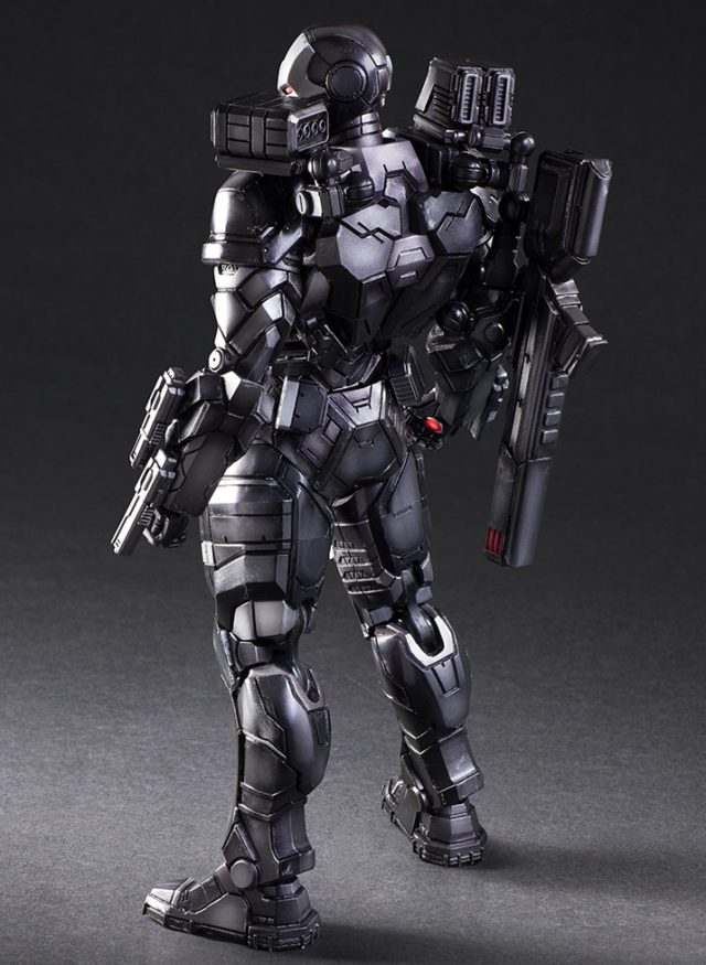 Back of Square-Enix War Machine Play Arts Kai Variant Figure