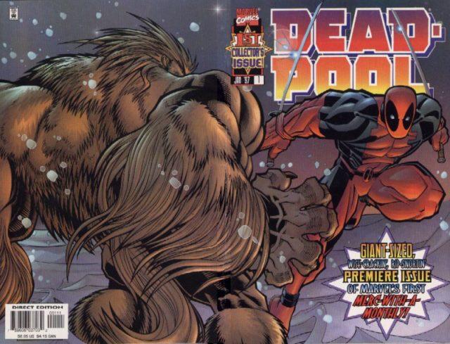 Deadpool #1 Cover by Joe Kelly