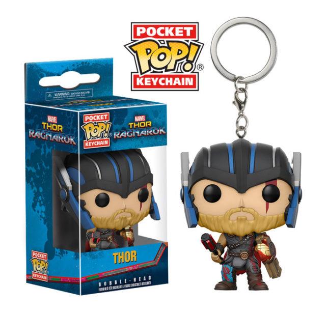 Funko Pocket POP Gladiator Thor Keychain Figure