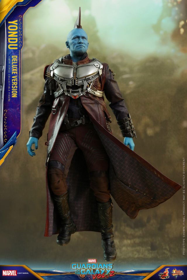 Hot Toys Yondu Deluxe Version Figure with Aerorig Flight Pack