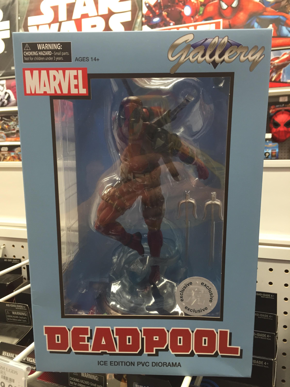 Marvel Toys R Us : Toys r us exclusive marvel gallery ice deadpool statue