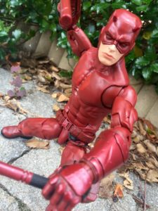 Close-Up of Marvel Legends Daredevil 12 Inch Figure