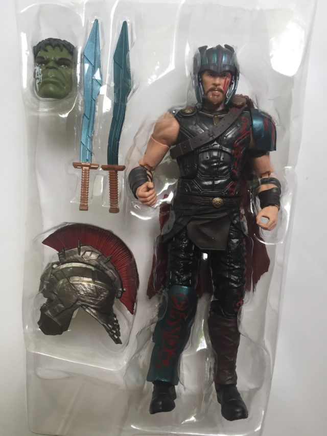 Thor Ragnarok Legends Gladiator Thor Figure and Accessories