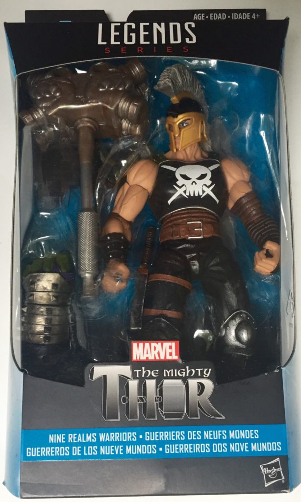 Marvel Legends Ares Ragnarok Figure Packaged