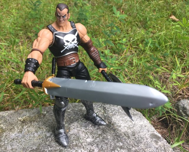 Marvel Legends Ares Action Figure with Giant Sword