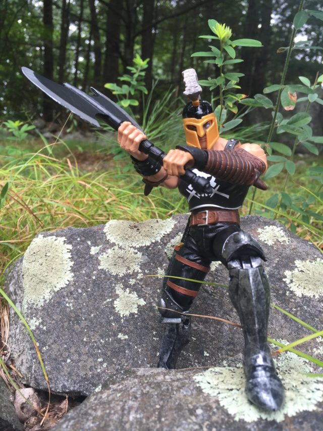 Marvel Legends 2017 Ares Figure Wielding Axe