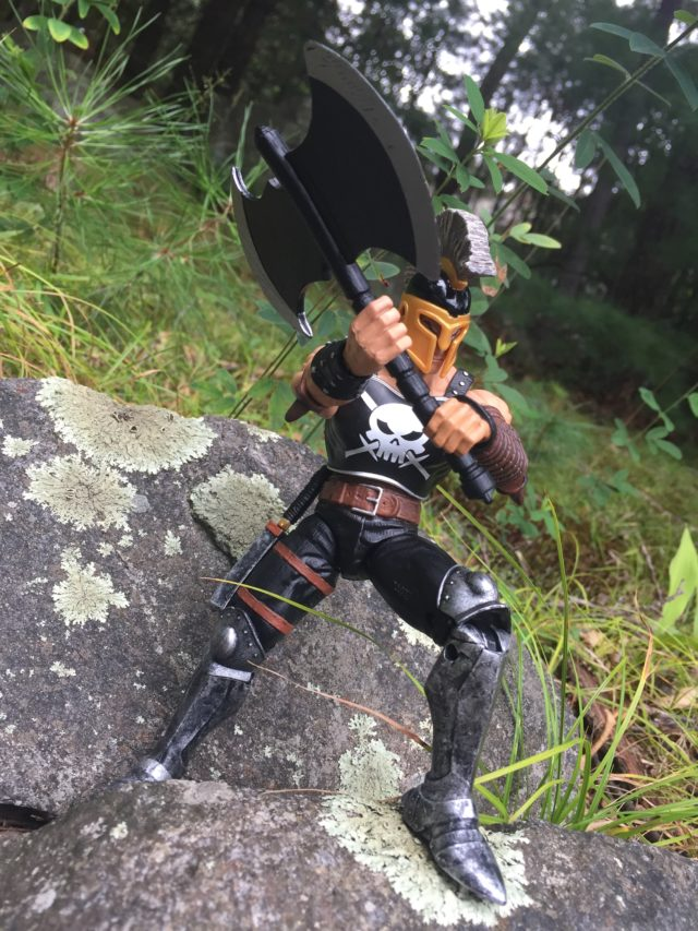 Ares Marvel Legends 2017 Figure with New Axe