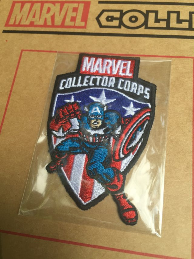 First Appearance Avengers Captain America Collector Corps Patch