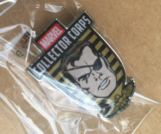 Funko Nick Fury Pin Marvel Collector Corps