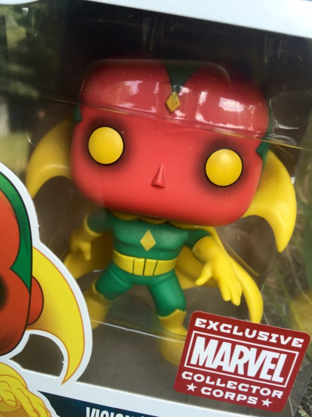 Marvel Collector Corps Vision POP Vinyl Exclusive Figure