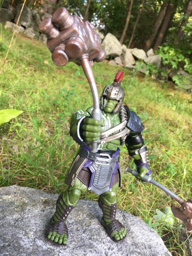 Bent Axe from Thor Ragnarok Legends Hulk BAF