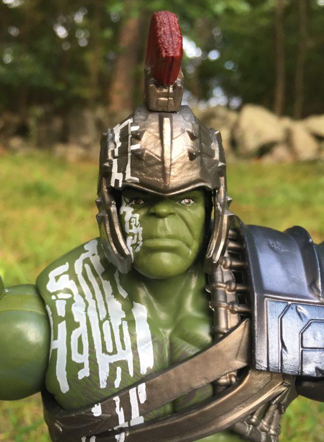 Gladiator Helmet on Hasbro Gladiator Thor Marvel Legends Figure