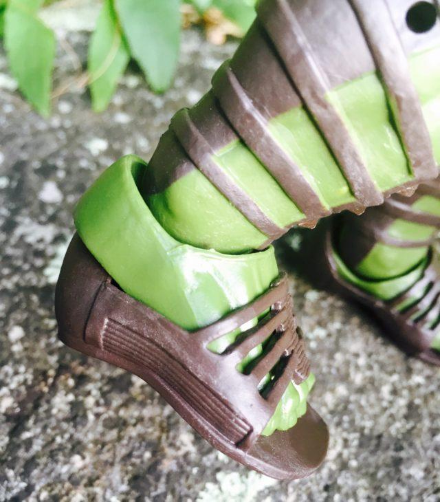 Hasbro Gladiator Hulk Figure Removable Sandals Slippers