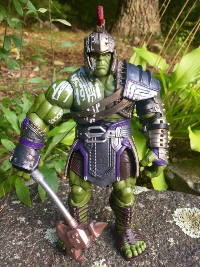 Review Marvel Legends Gladiator Hulk Build-A-Figure