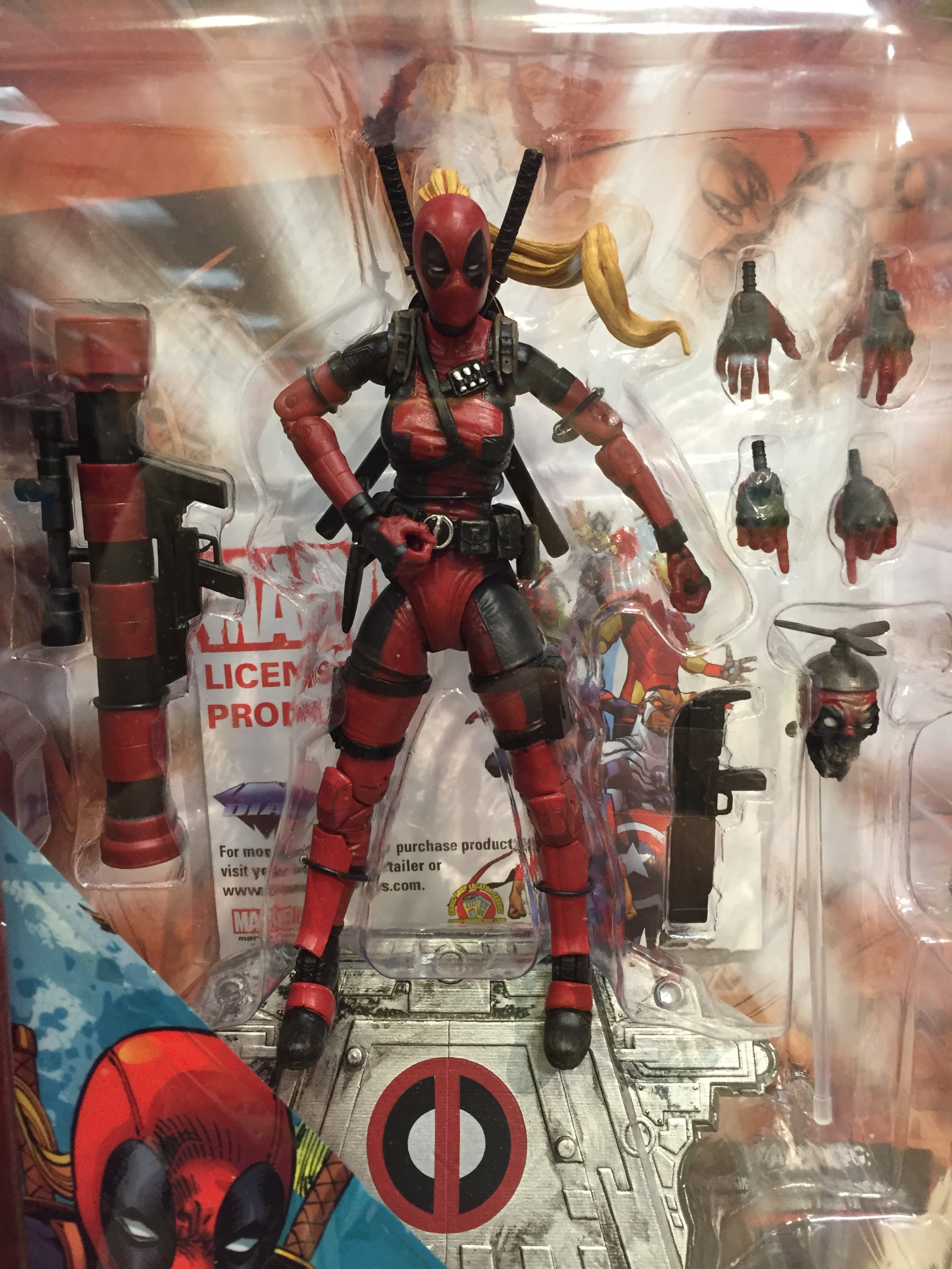 Marvel Select LADY DEADPOOL Action Figure Diamond Select Toys DST!