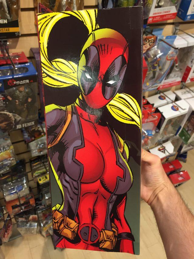 Box Side DST Lady Deadpool Select Figure