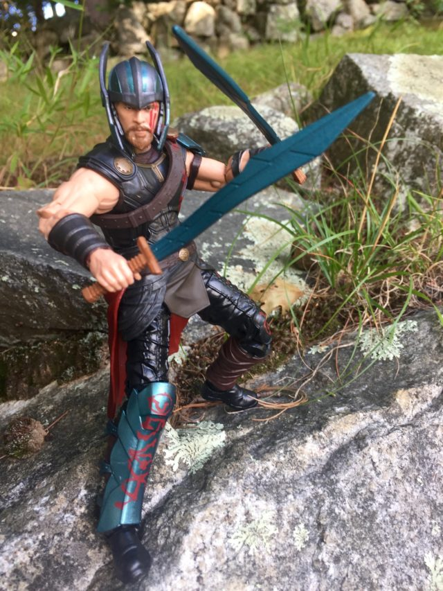 Gladiator Thor Legends Six Inch Figure Hasbro