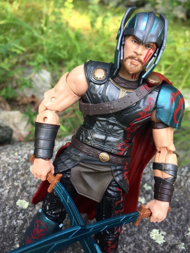 "6"" Marvel Legends Gladiator Thor Chris Hemsworth Portrait"