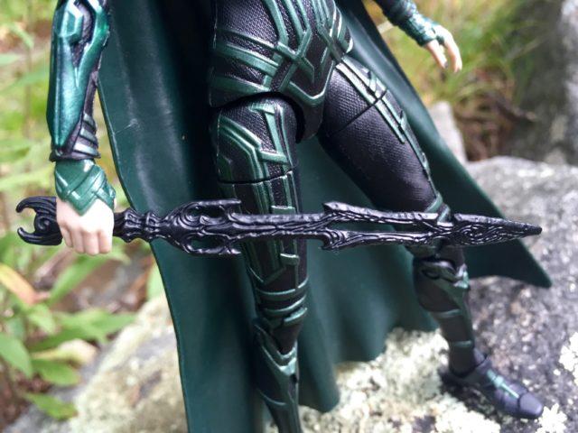 Close-Up of Marvel Legends Hela Sword