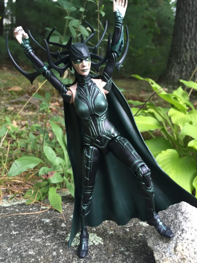 Hela Marvel Legends Hasbro Six Inch Figure Review