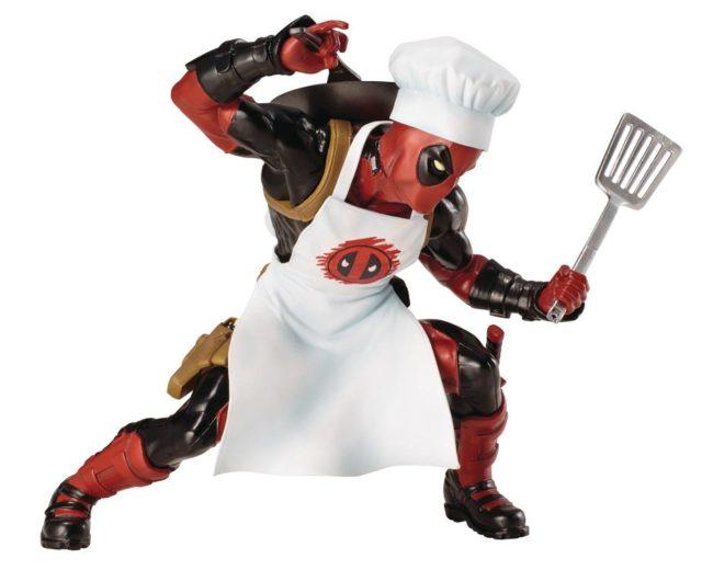Kotobukiya Deadpool Cook ARTFX+ Statue