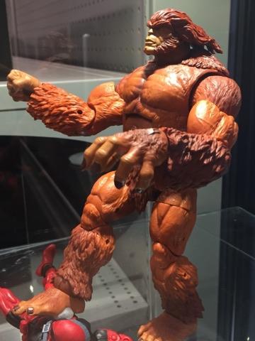 Marvel Legends 2018 Sasquatch BAF Deadpool Series