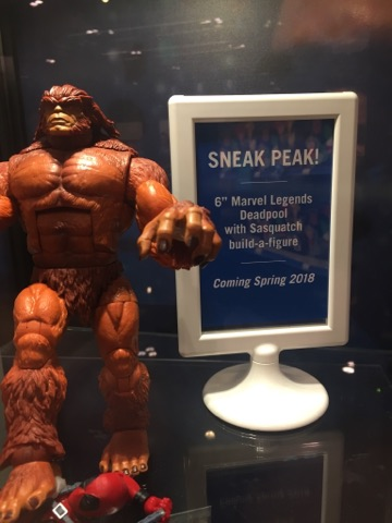 Marvel Legends Deadpool Series Build-A-Figure Sasquatch Announced