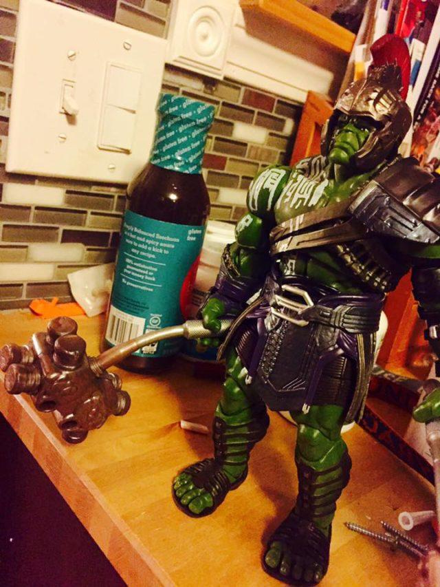 Marvel Legends Gladiator Hulk War Hammer Flaccid Limpy