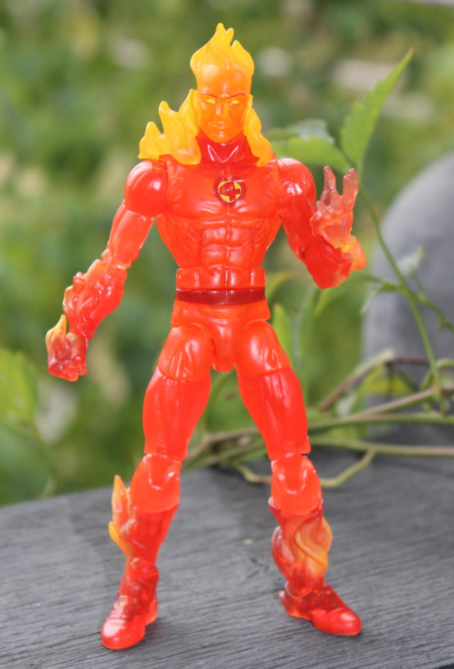 Marvel Legends Human Torch 6 Inch Figure Out of Package