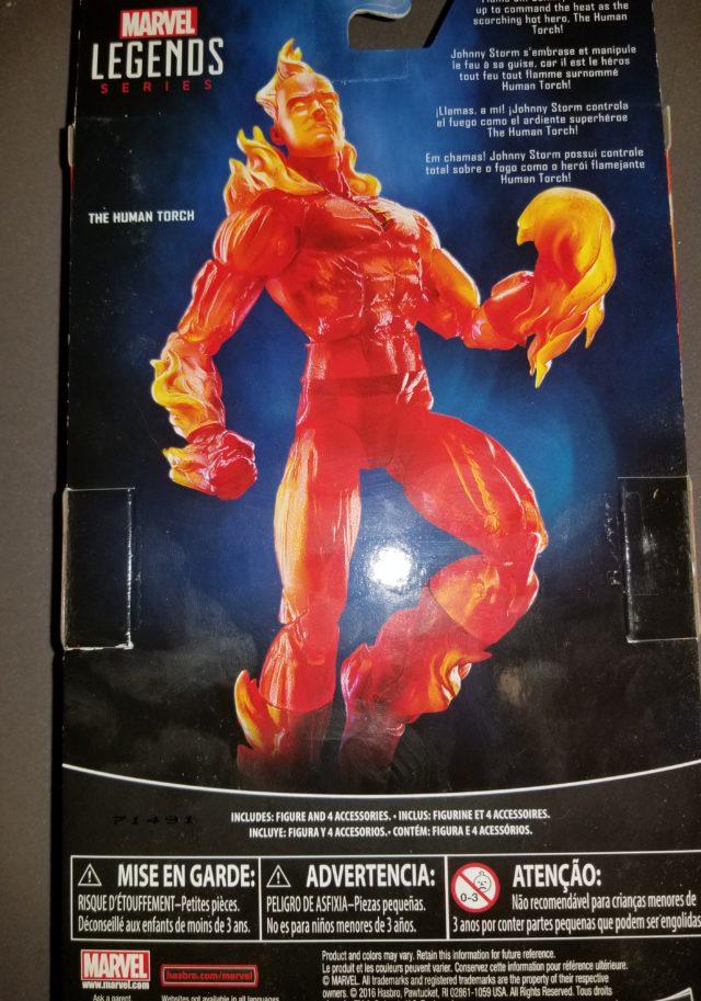 Marvel Legends Human Torch Figure Released