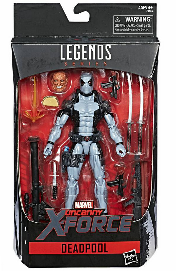 Marvel Legends X-Force Deadpool Exclusive HasCon 2017