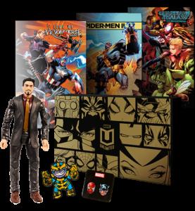 Marvel Unlimited Plus Exclusive Marvel Legends Tony Stark Figure 2018