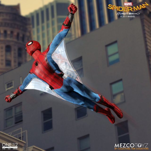 Mezco ONE 12 Collective Homecoming Spider-Man Web Wings