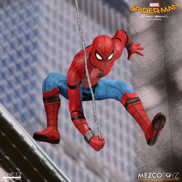 ONE 12 Collective Spider-Man Homecoming Figure Web Swinging
