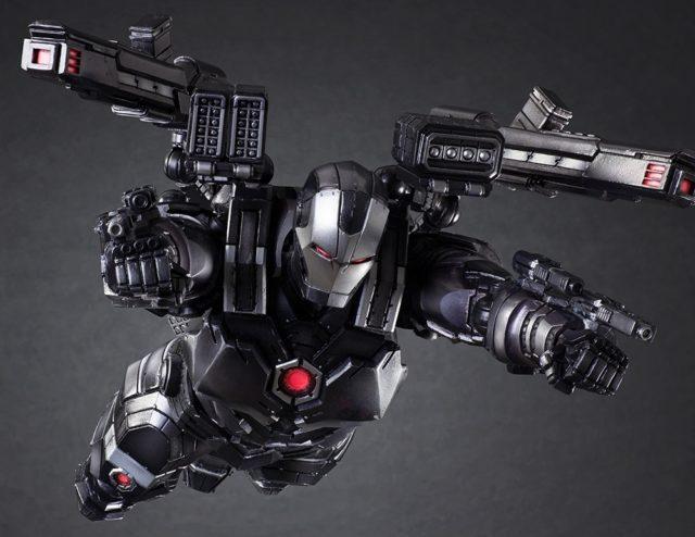 Play Arts Kai War Machine Action Figure Flying