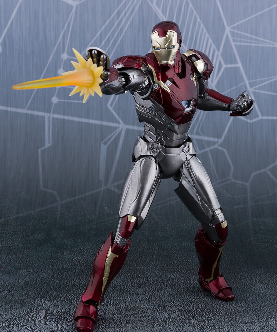 Toys For Gentleman : Sh figuarts homemade suit spider man iron figures